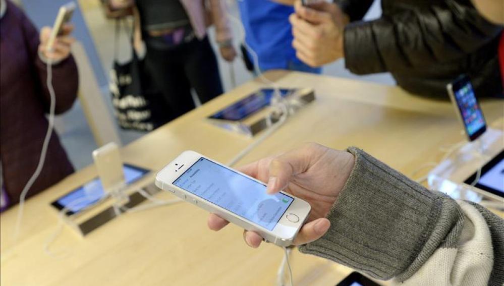 Clientes con el iPhone 5C