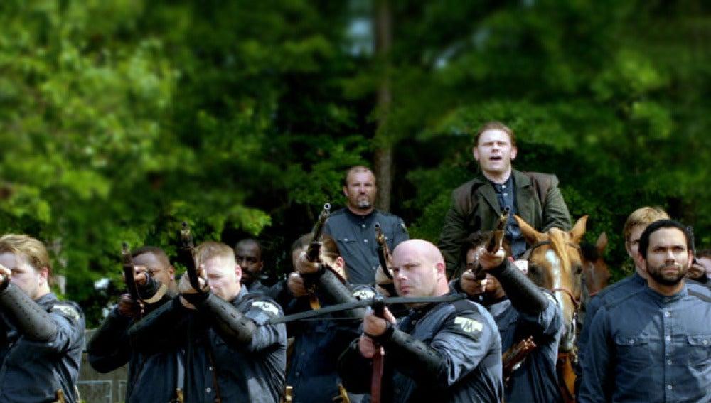 La milicia lucha por su supervivencia