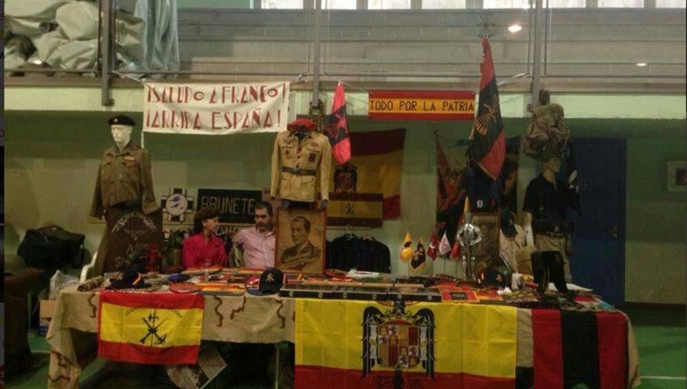 El mercadillo franquista celebrado en Quijorna comienza a recibir críticas
