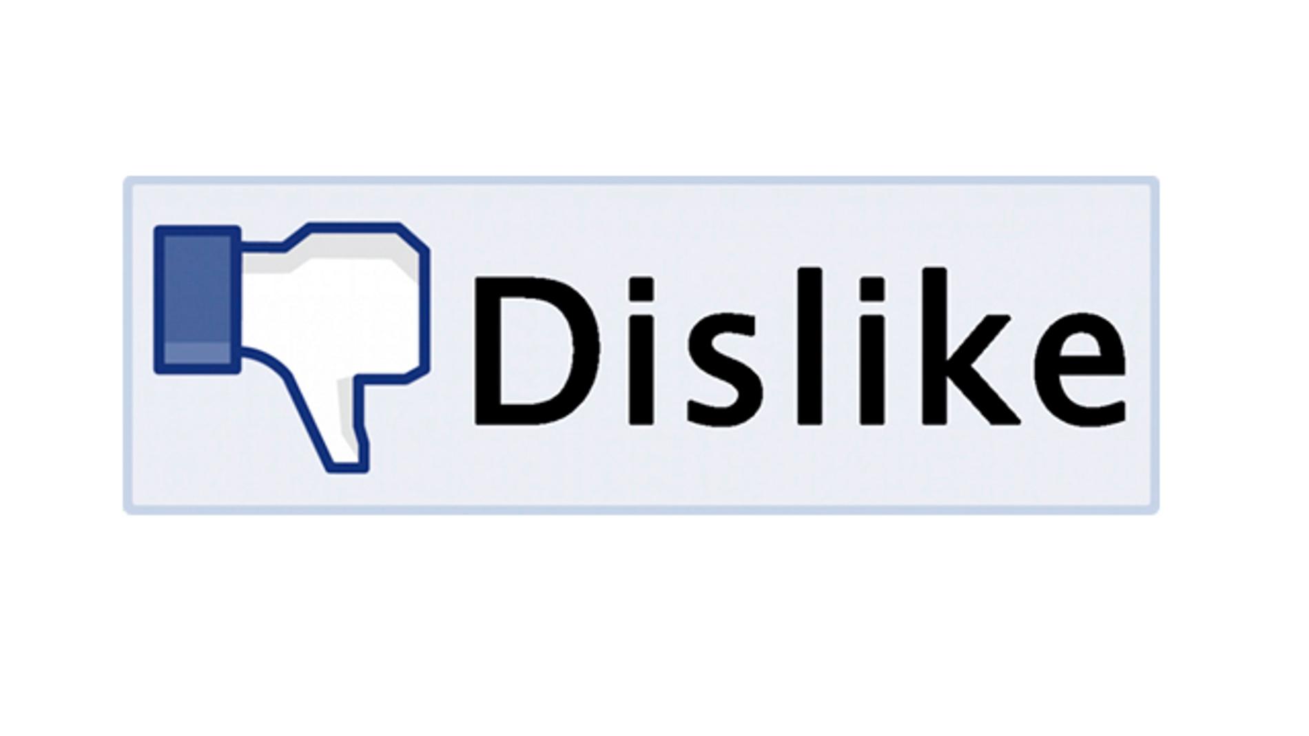 Dislike vs Like
