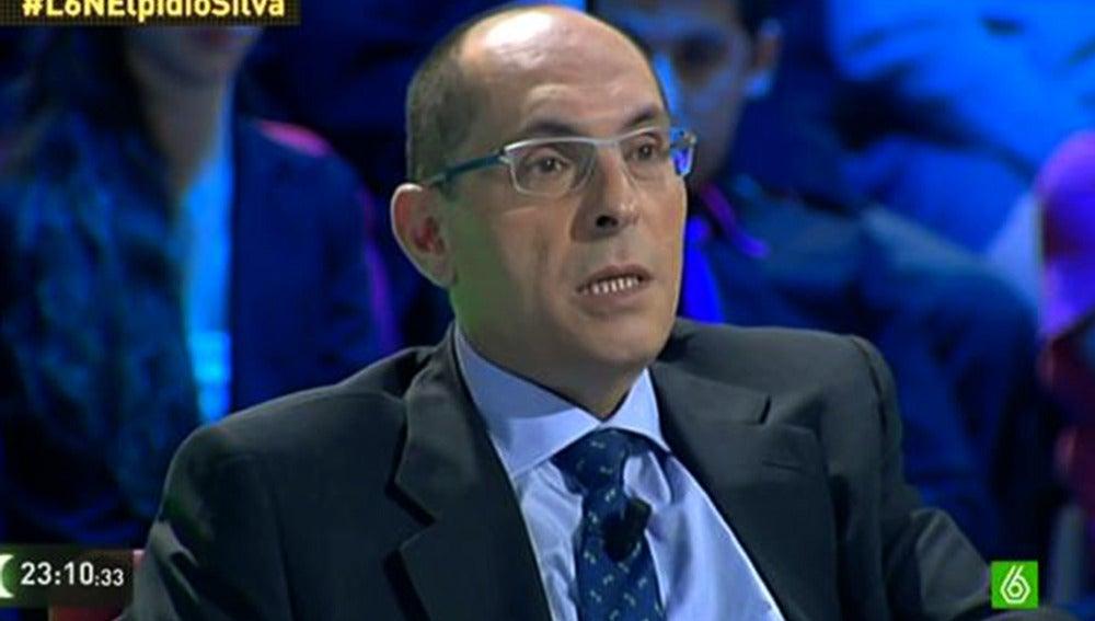 Elpidio José Silva en laSexta noche