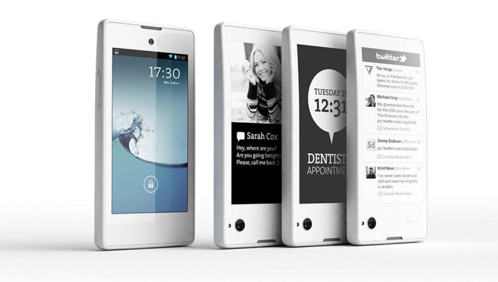 Los móviles de Yotaphone