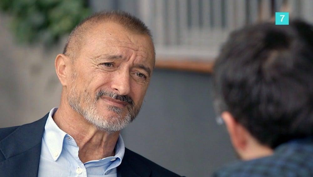 Arturo Pérez Reverte en 'Salvados'