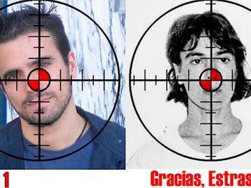 Fotomontaje utilizado en Twitter para amenazar a Alberto Garzón