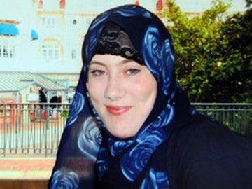 Samantha Lewthwaitet, conocida como la 'viuda blanca'.