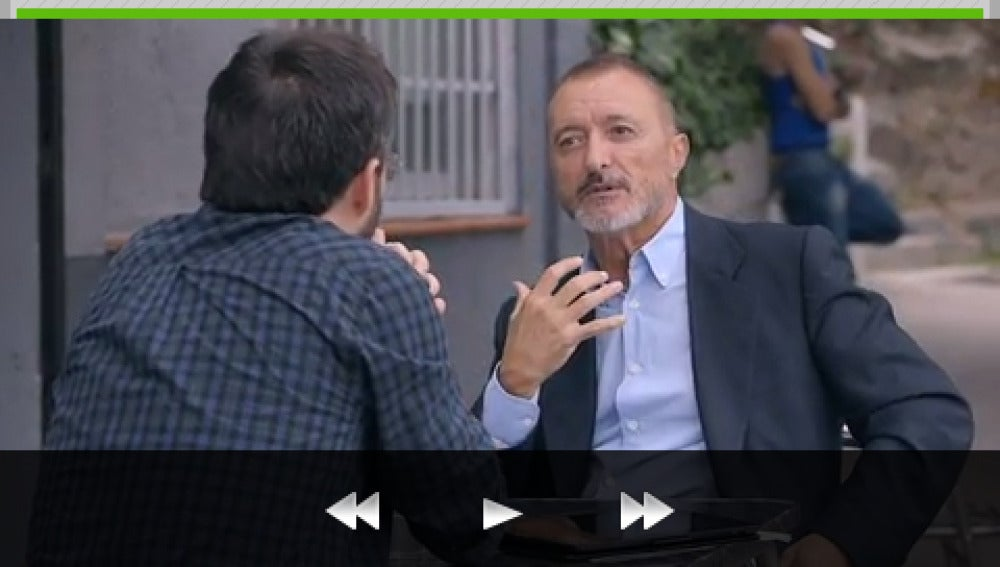 Arturo Pérez-Reverte en ATRESMEDIA CONECTA