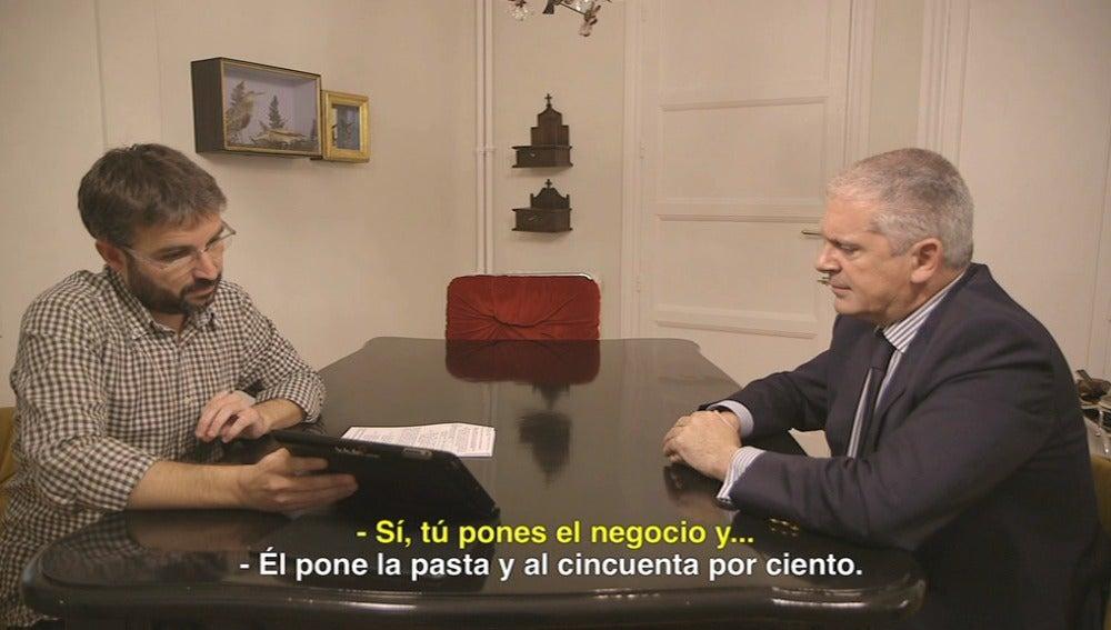 Pablo Crespo y Jordi Évole