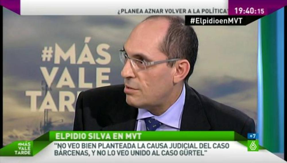 El juez Elpidio José Silva