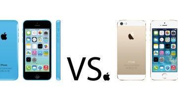 iPhone 5S contra iPhone 5C