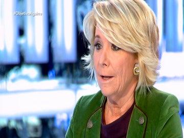 Esperanza Aguirre, en El Objetivo