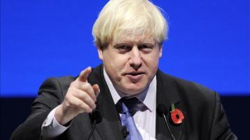 El alcalde de Londres, Boris Johnson