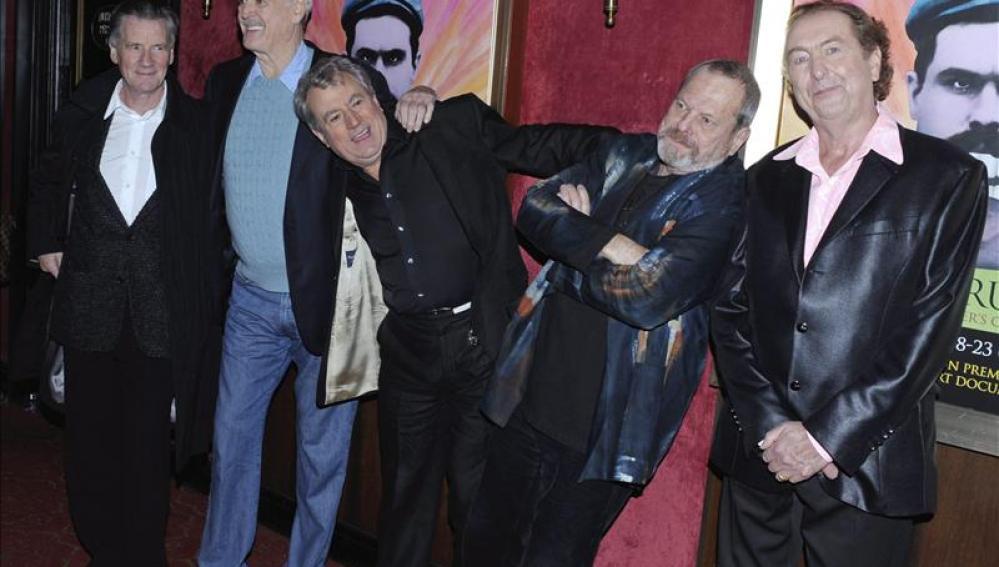 Los humoristas del veterano grupo cómico Monty Python
