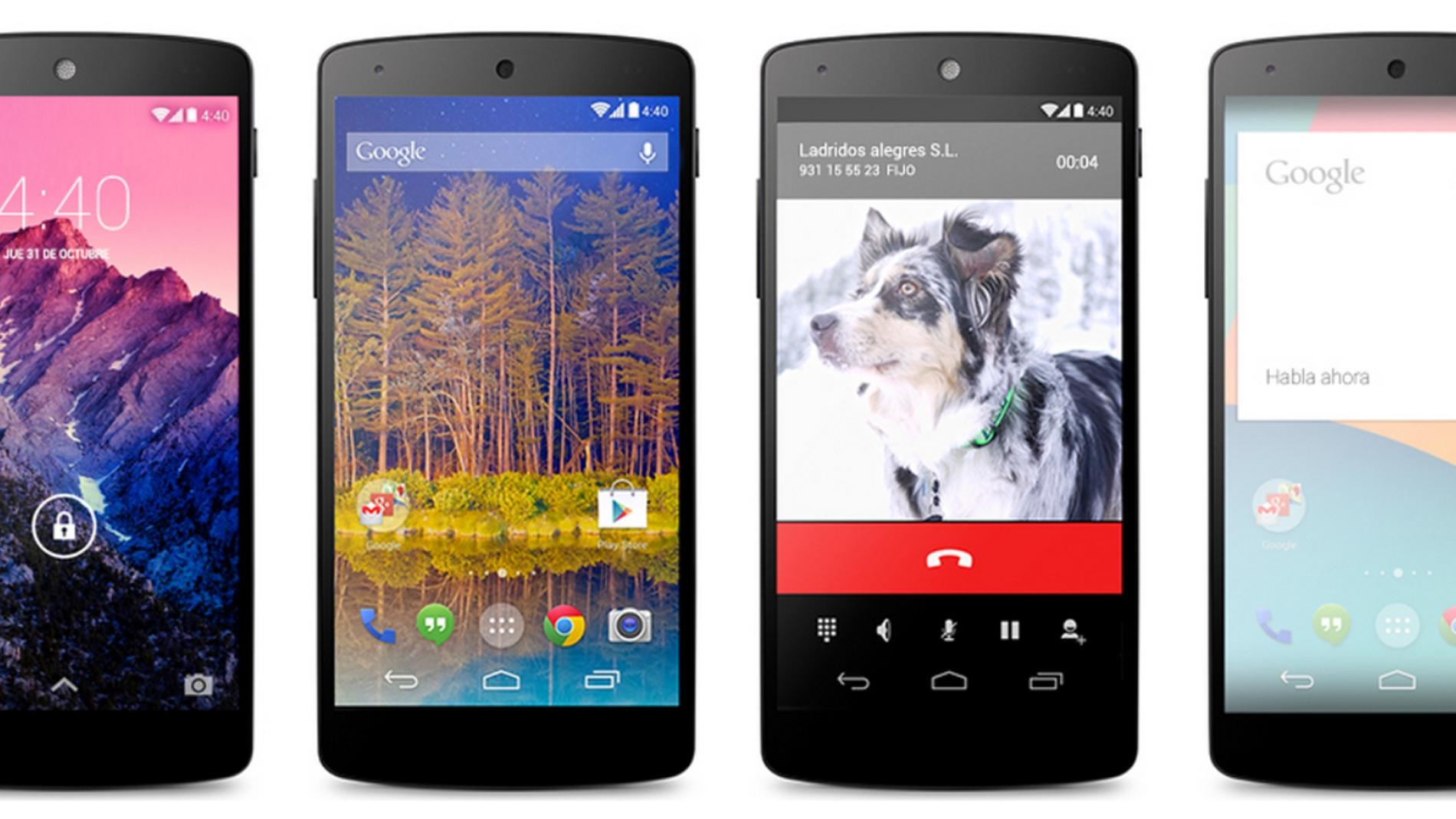 Nexus 5, el nuevo teléfono de Google fabricado por LG