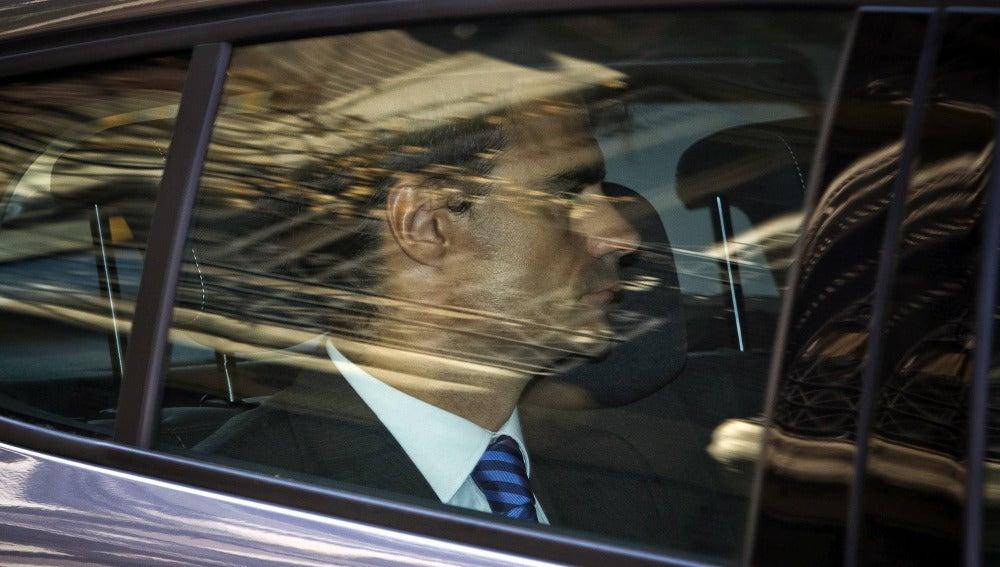 El juez Pablo Ruz, a su llegada a la Audiencia Nacional.