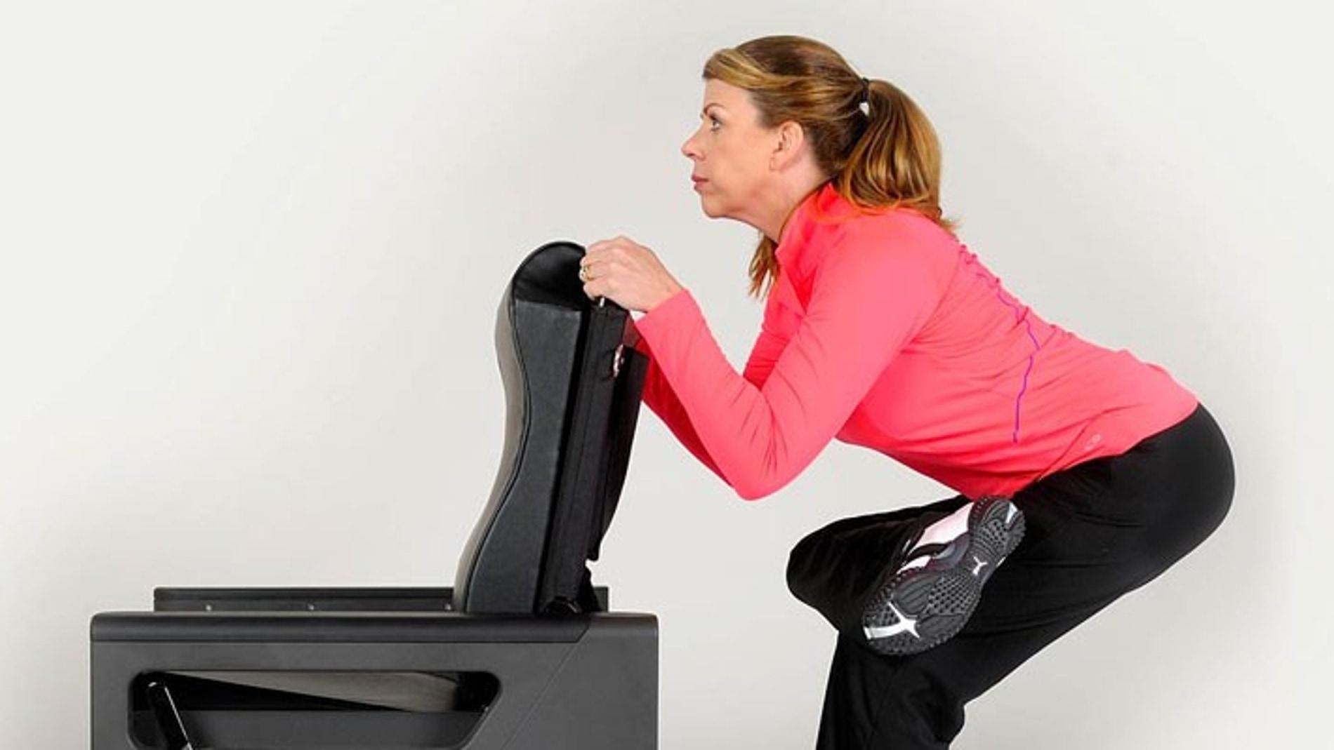 ChairMaster, un sillón que es un gimnasio entero