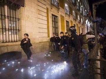 Siete detenidos y cerca de 20 heridos tras el último 'Rodea el Congreso'