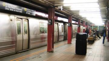 Imagen del metro de Nueva York.