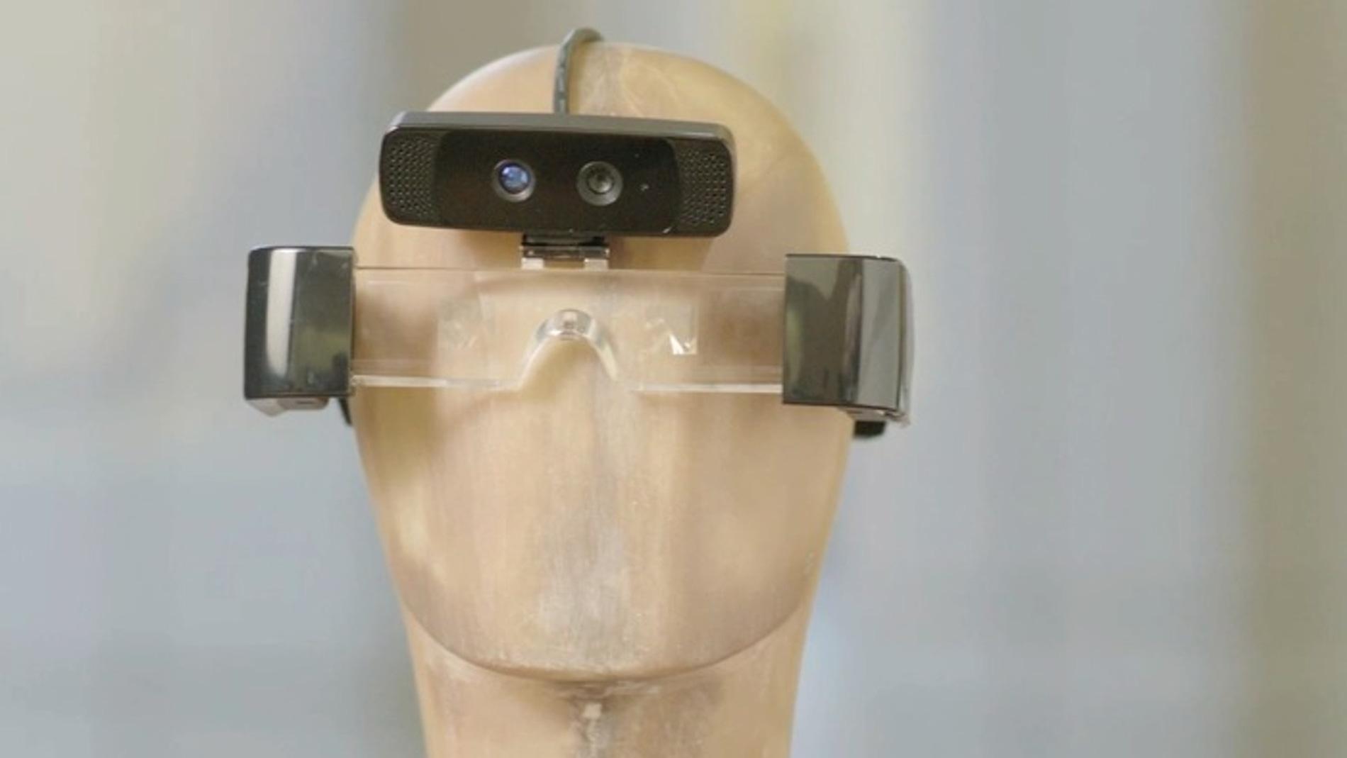 Prototipo de gafas de la empresa Meta