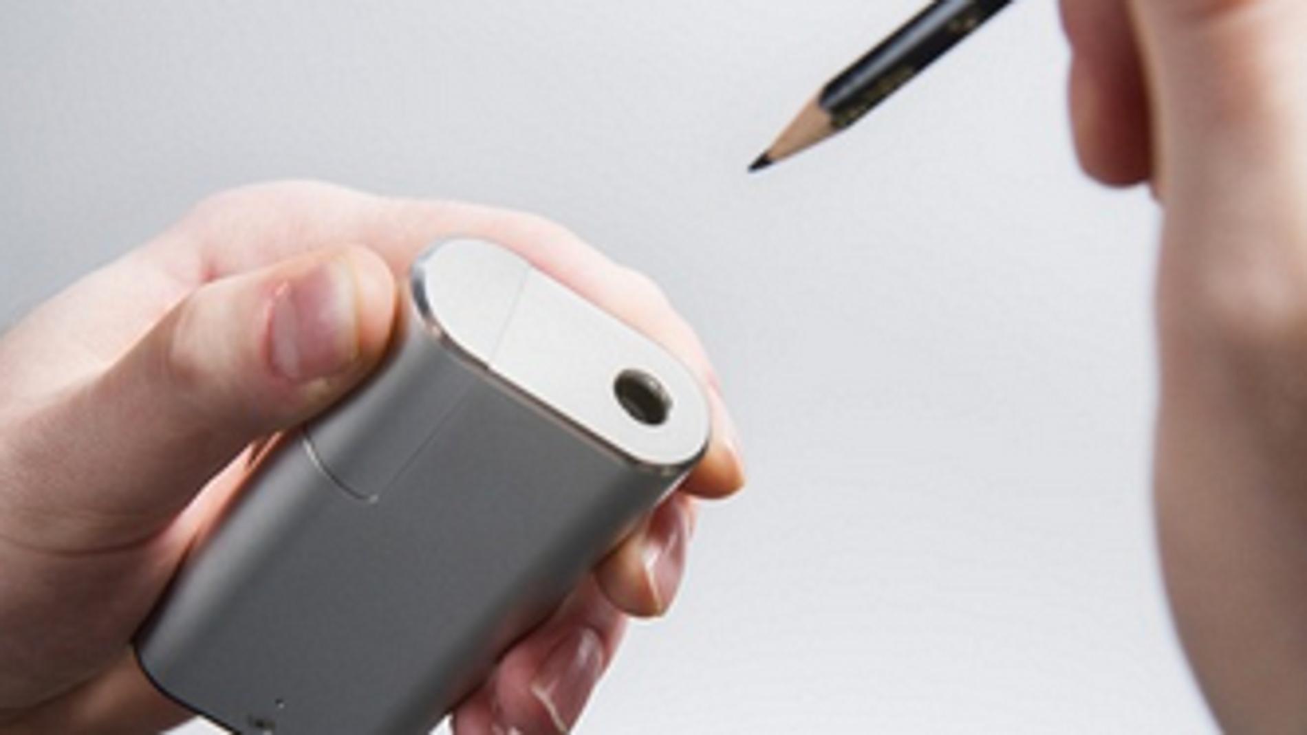 iDraw, un sacapuntas que se carga via USB