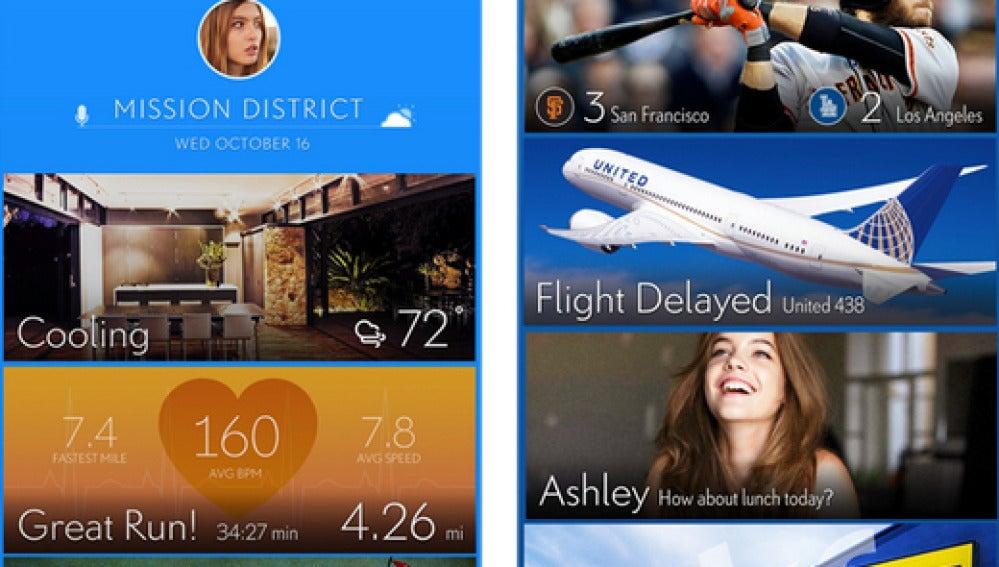 Así podría ser la nueva pantalla de inicio de Samsung