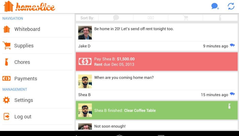Una red social para ayudarse entre 'compis' de piso