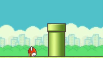 Game Over en Flappy Bird