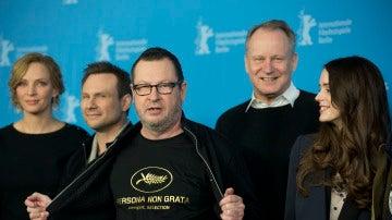 Lars Von Trier en el Festival de Cannes