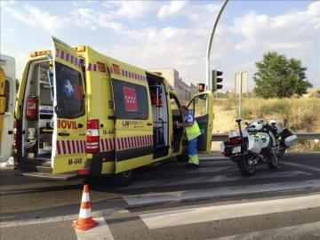 Ambulancia del SUMMA de Madrid