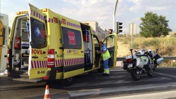 Fotografía de archivo de una ambulancia del SUMMA de Madrid