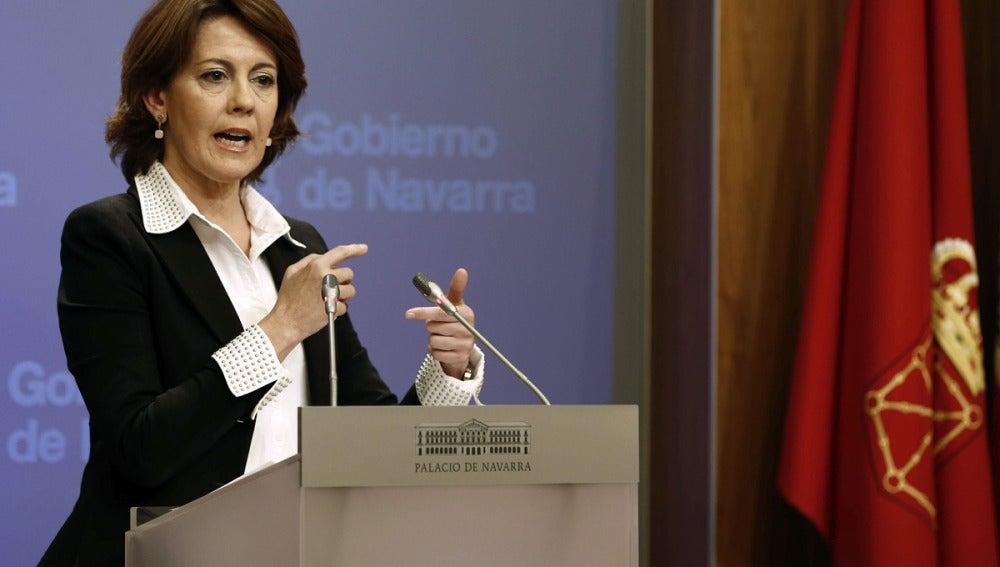 Yolanda Barcina ni dimitirá ni convocará elecciones anticipadas en Navarra