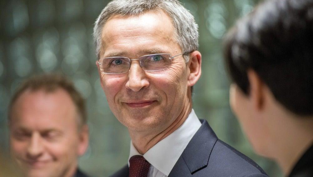 El ex primer ministro noruego Jens Stoltenberg