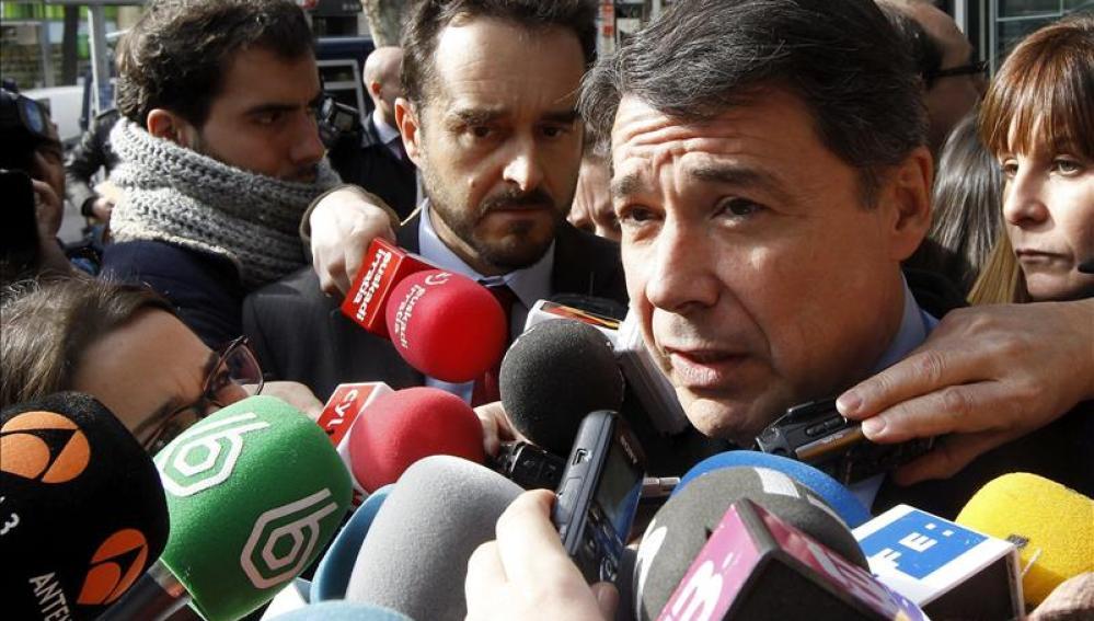 Ignacio González ante los medios de comunicación (Archivo)