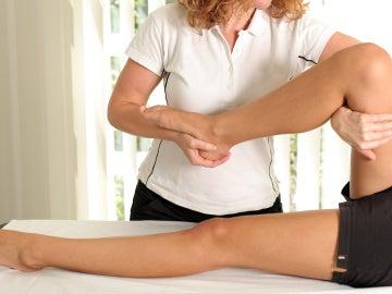 Masaje de fisioterapia