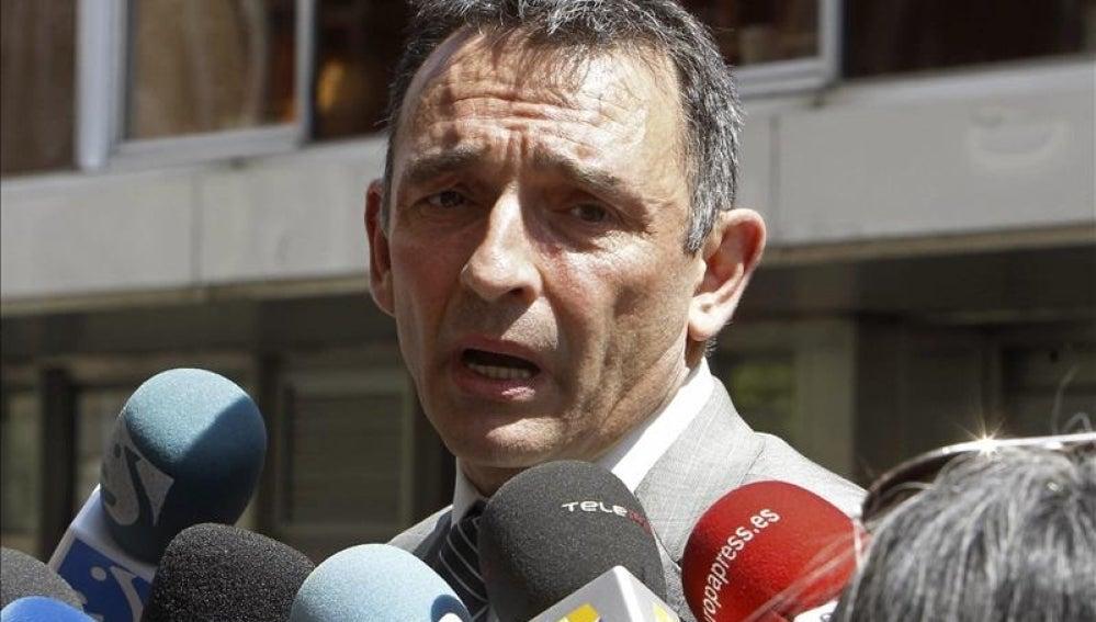 El abogado de IU Enrique de Santiago