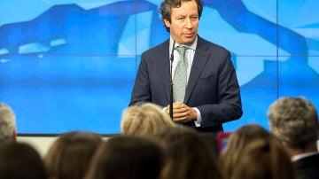 Carlos Floriano durante un acto electoral
