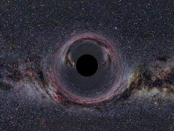 Reconstrucción de un agujero negro