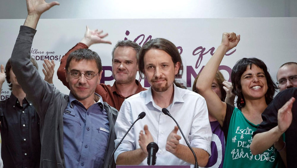 Pablo Iglesias, cabeza de lista de Podemos a las Elecciones Europeas (