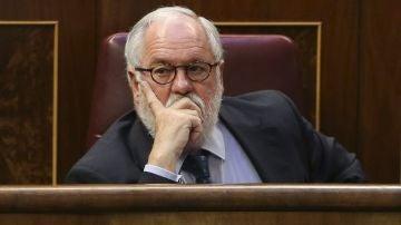 Miguel Arias Cañete en el Congreso de los Diputados