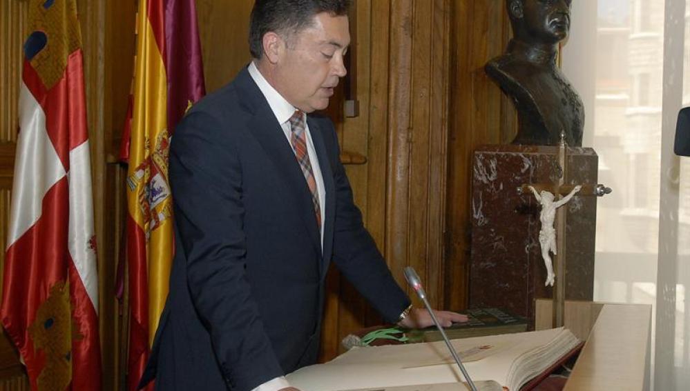 El presidente de la Diputación de León, Marcos Martínez