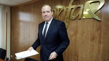 El presidente de CEPYME, Jesús Terciado
