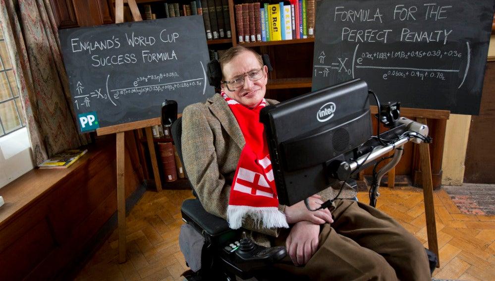 El célebre astrofísico Stephen Hawking a