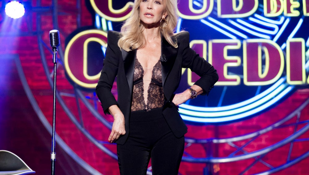 Carmen Lomana en 'El Club de la Comedia'