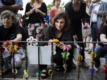 La presidenta de la Asociación de Víctimas del Metro 3 de Julio, Beatriz Garrote