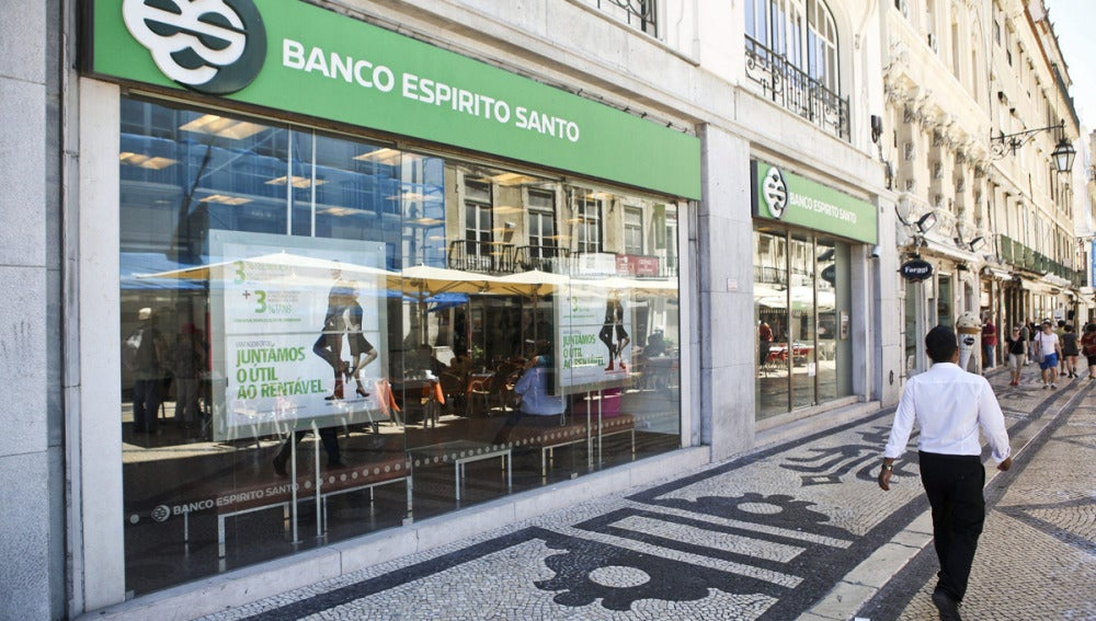 Una sucursal del Banco Espirito Santo