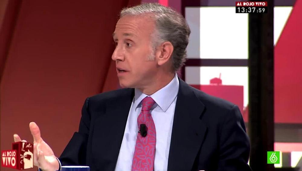 Eduardo Inda critica a Pablo Iglesias
