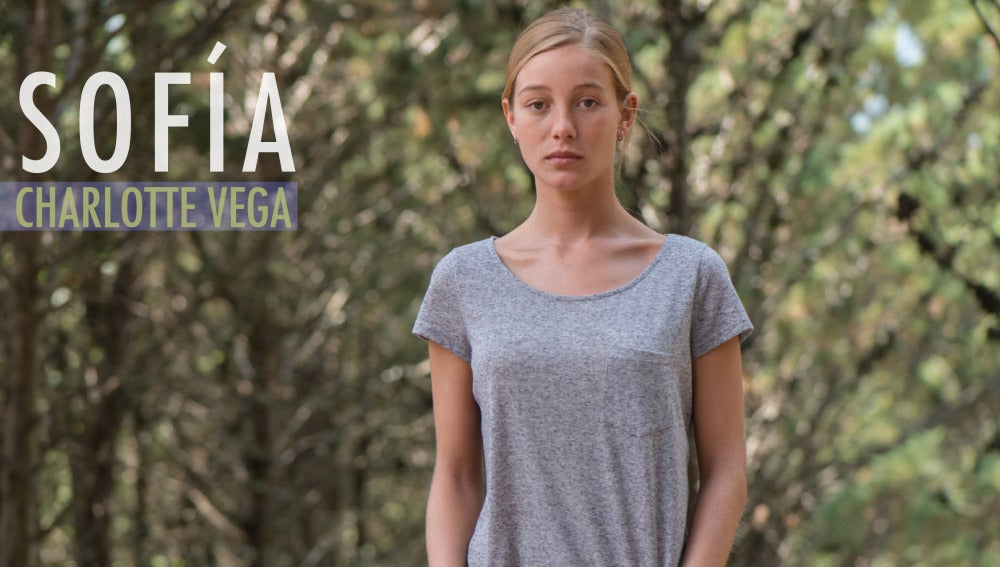 Charlotte Vega es Sofía