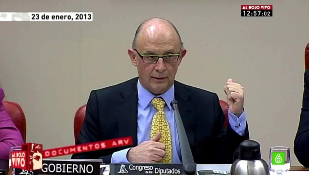 Cristóbal Montoro, documentos ARV