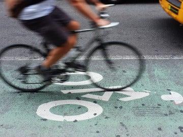 Un carril bici