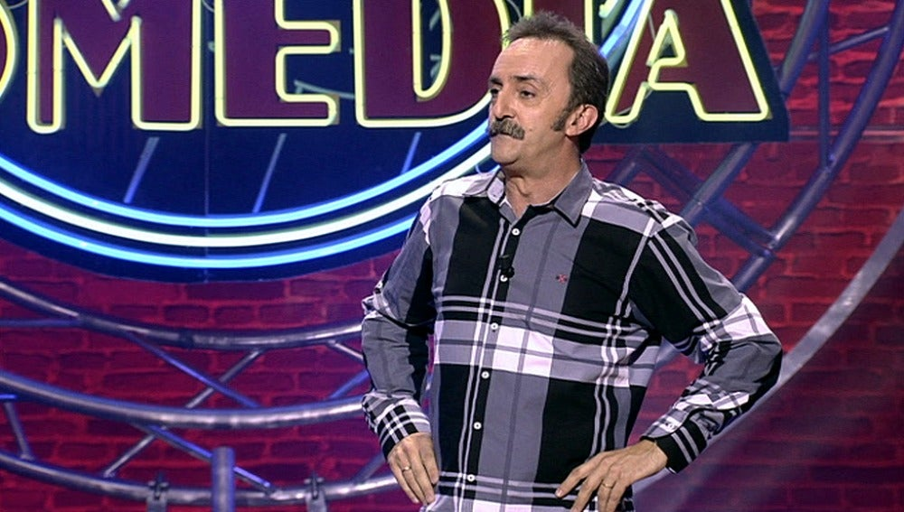 Santi Rodríguez en 'El Club de la Comedia'