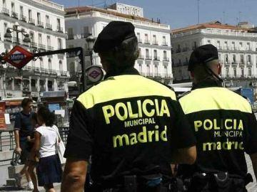 Policías municipales de Madrid